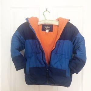 Oshkosh B'gosh Winter Coat Size 7 Warm Hood
